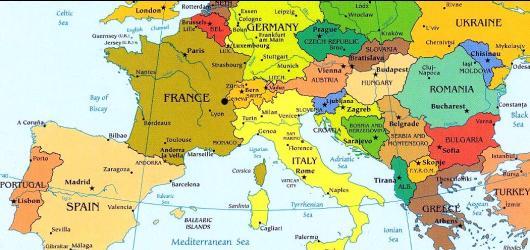 מפת אירופה החדשה