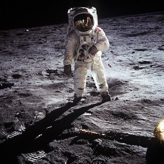 באז אולדרין במשימת אפולו 11