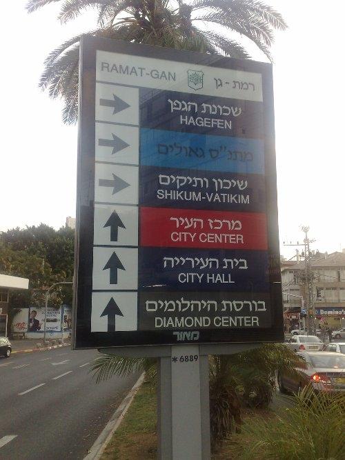 ותיק יקר: לשיקום please turn right