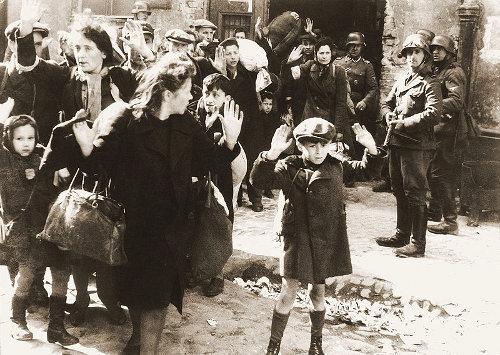ילד יהודי בגטו